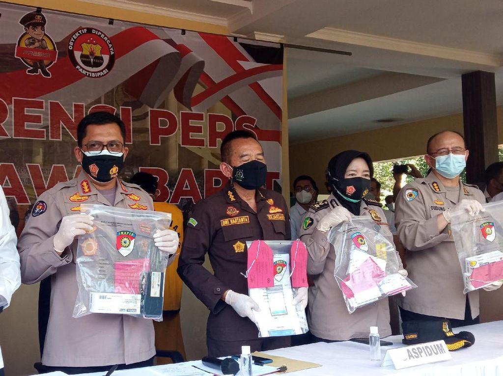 Polda Jabar Tangkap 5 Pelaku Penimbun-Penjual Obat Corona di Atas HET