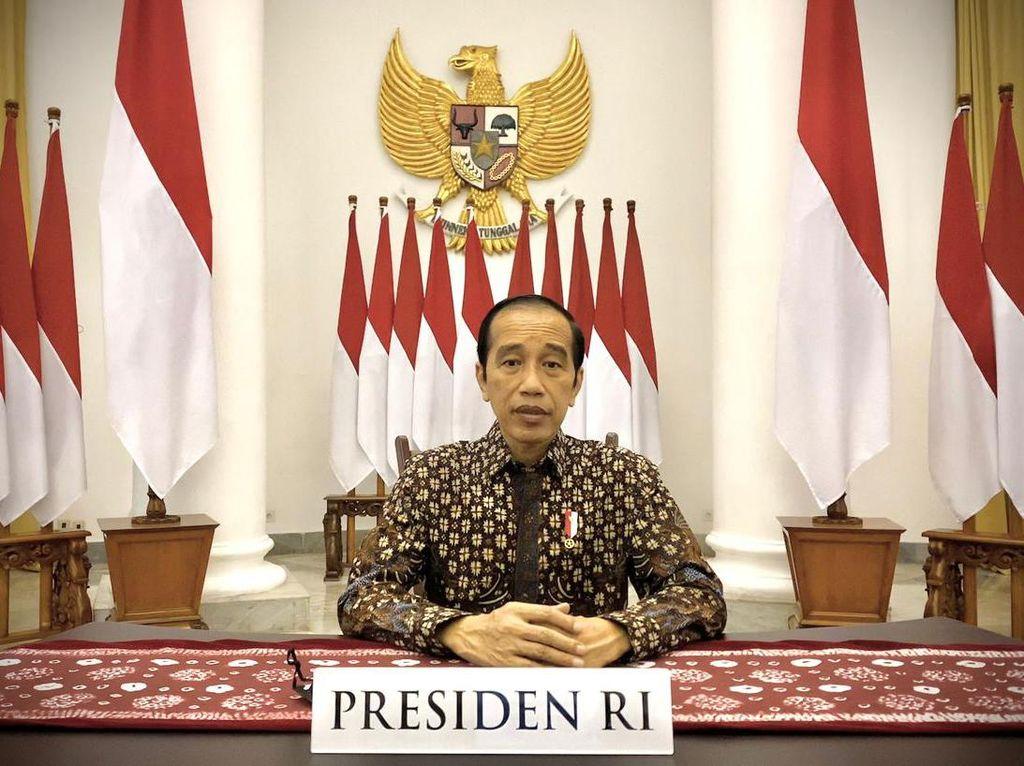 Jokowi Minta MUI Bantu Jelaskan Vaksin Corona Aman dan Halal