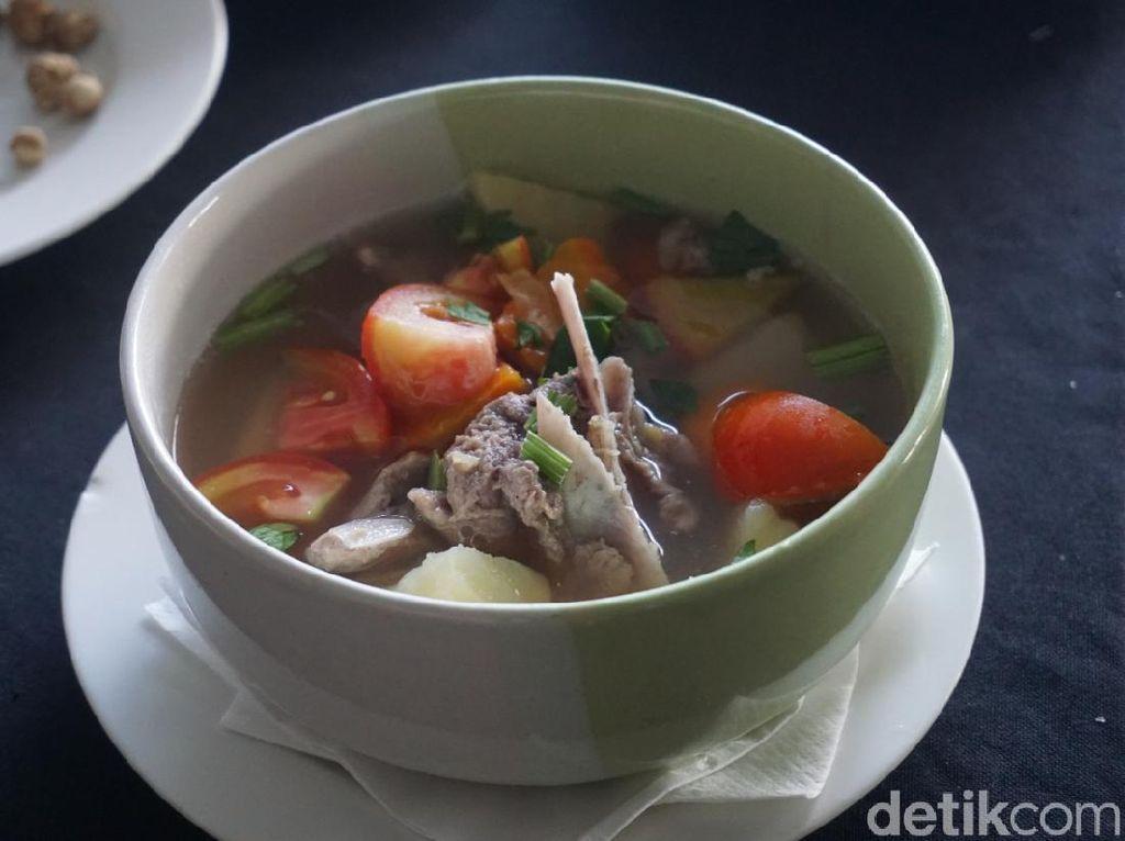 Cara Bikin Samosa dan Sop Sengkel Kambing ala Chef Hotel