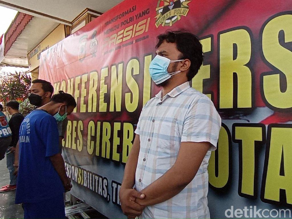 Penyebar Hoax Ricuh Pasar Jagasatru Cirebon Dibekuk, Motif demi Konten