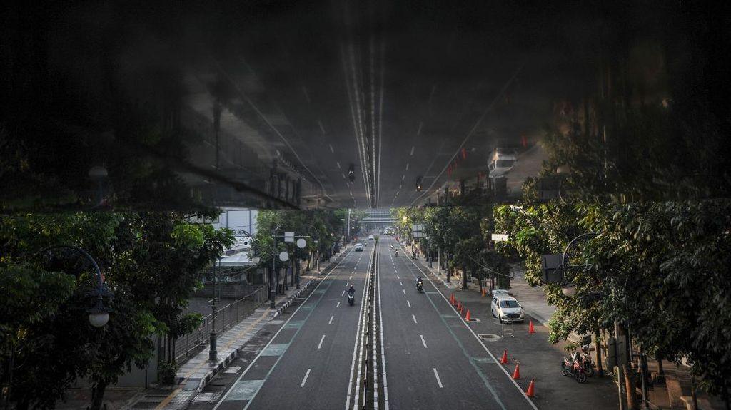 Sepinya Kota Bandung Kala PPKM Diperpanjang