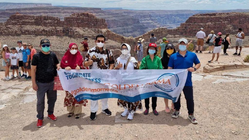 Serunya Traveler Ramai-ramai Ikuti Wisata Vaksin ke AS