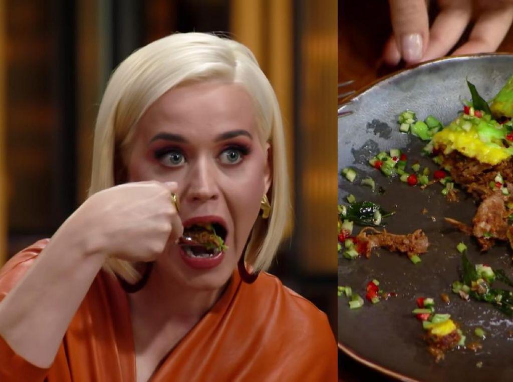 Coba Rendang dan Pulut Kuning Malaysia, Katy Perry Terkejut