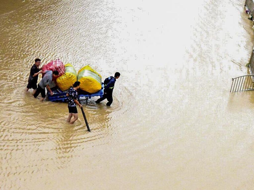 Kerugian Akibat Banjir di China Diperkirakan Tembus Rp 2,7 T