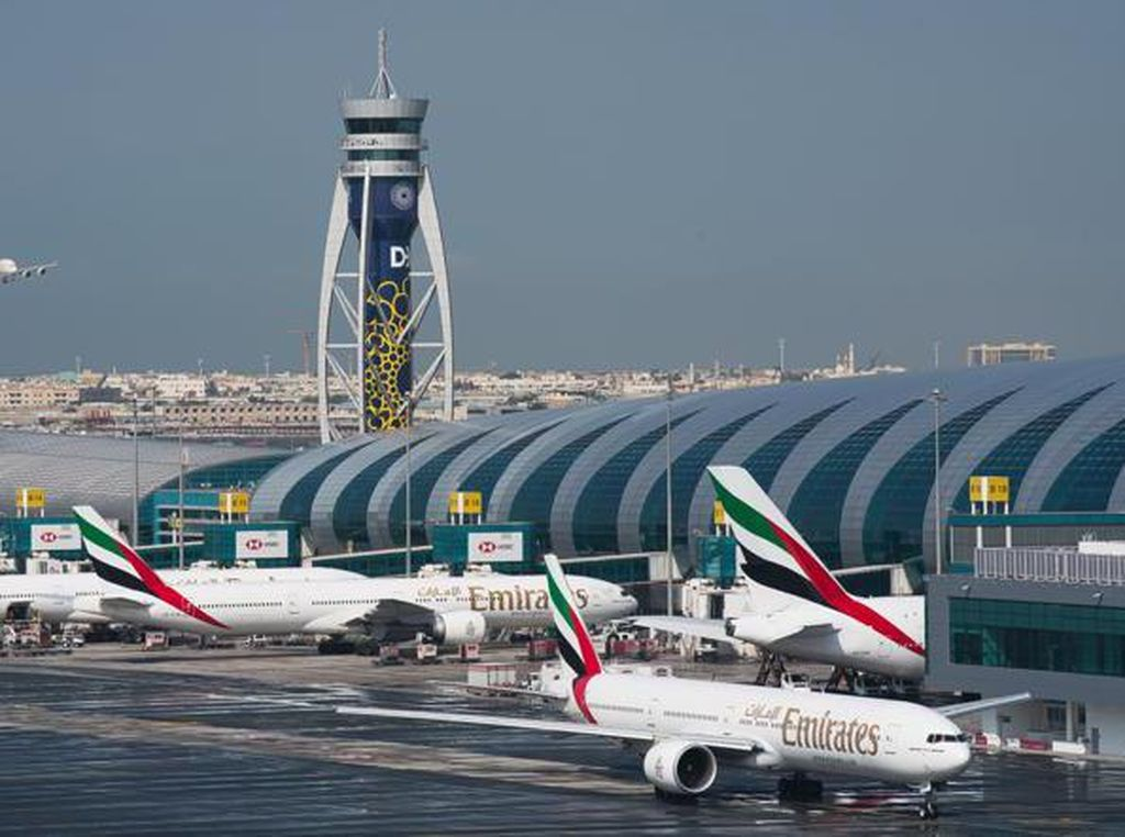 2 Pesawat Penumpang Tabrakan di Bandara Dubai, Tak Ada Korban