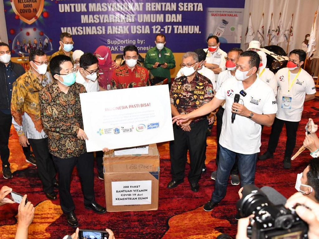 Bamsoet Ajak Asosiasi Pengusaha Bantu Warga Terdampak Pandemi