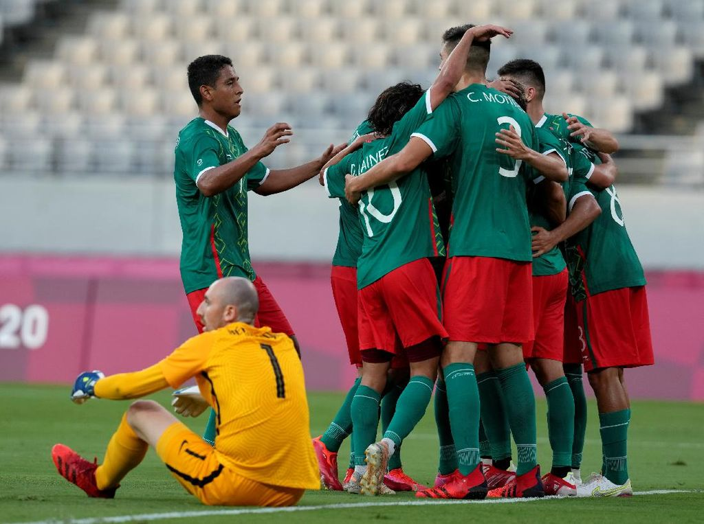 Hasil Sepakbola Olimpiade Tokyo 2020: Prancis Digasak Meksiko 1-4