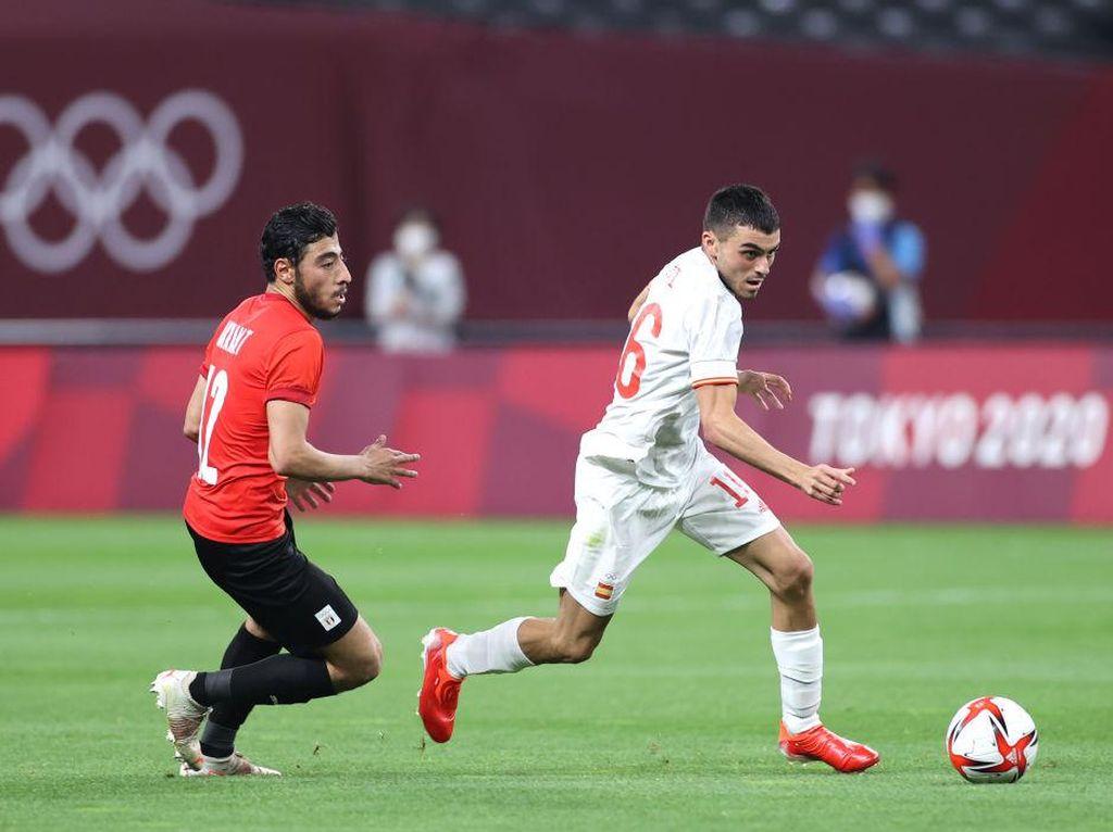 Hasil Mesir vs Spanyol di Olimpiade Tokyo 2020: Tuntas 0-0