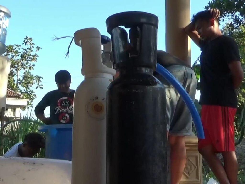 Polisi Selidiki Temuan Oksigen Diduga Palsu di Tulungagung