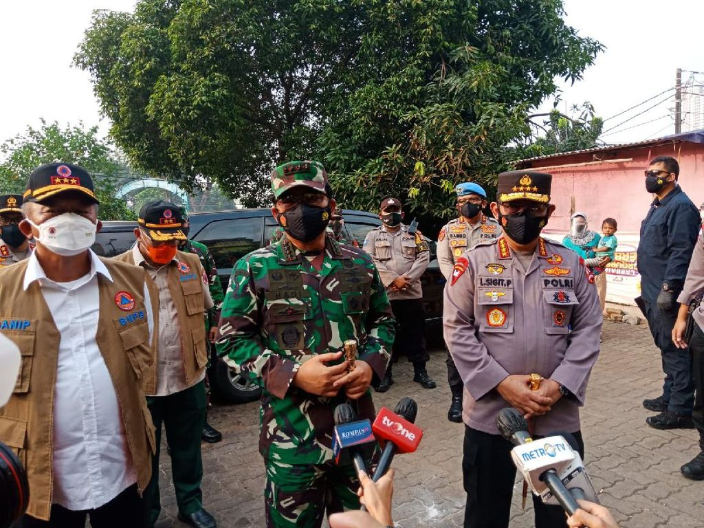 Panglima TNI Targetkan 70% Warga DKI Sudah Tervaksin Sebelum HUT RI