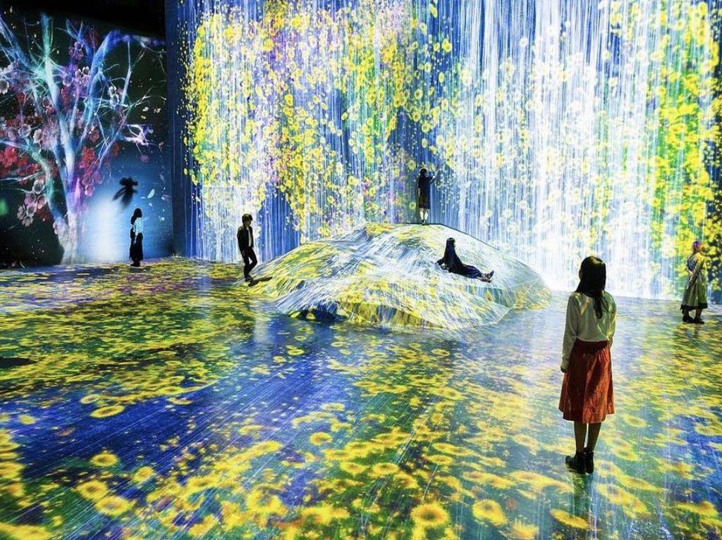 TeamLab Tokyo Jadi Museum Paling Banyak Dikunjungi di Dunia
