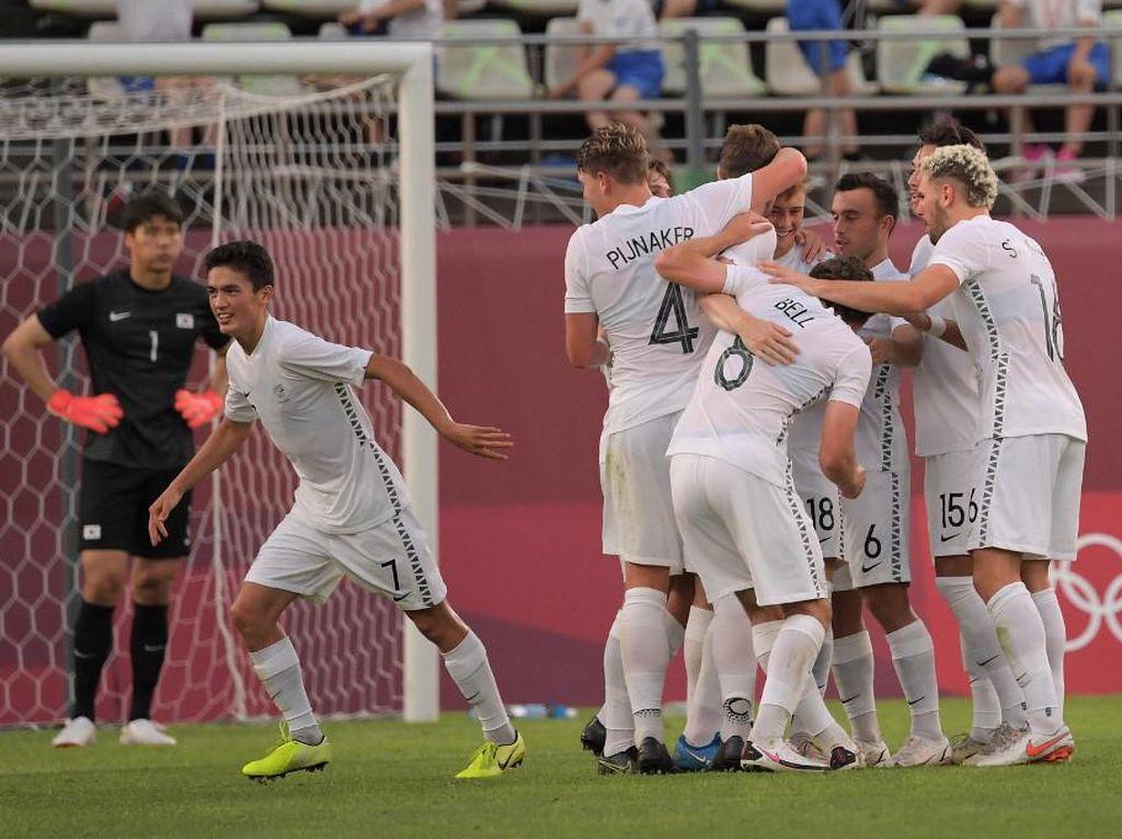 Hasil Sepakbola Olimpiade Tokyo 2020: Selandia Baru 1-0 Korsel
