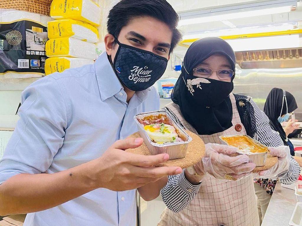 5 Fakta Kuliner Syed Saddiq, Bagi-bagi Sembako hingga Jago Masak Lasagna