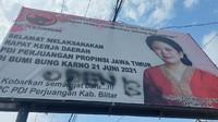 DPP PDIP Laporkan Vandalisme Open BO di Baliho Puan Maharani