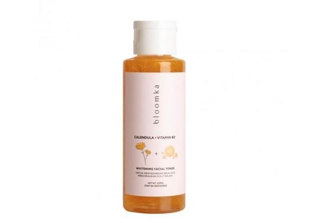 Bloomka Calendula + Vitamin B3 Whitening Toner   Foto : www.beautyhaul.com