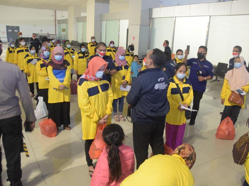 63 Pekerja Migran RI di Malaysia Berhasil Dipulangkan