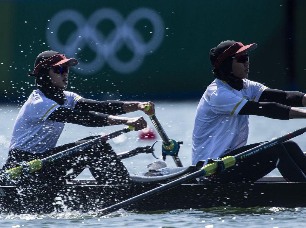 Atlet Dayung Indonesia Mulai Latihan Jelang Olimpiade
