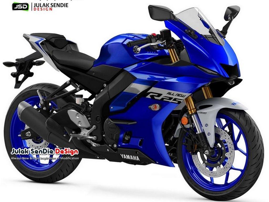 Andai Desain Yamaha R25 Seperti Ini