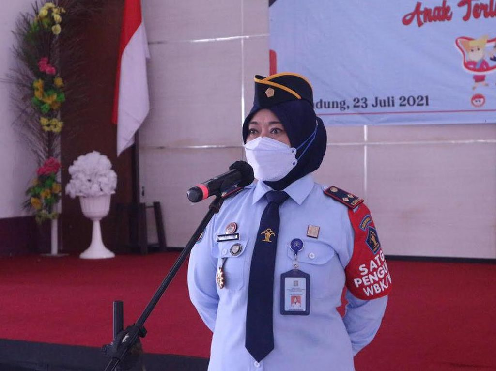 55 Anak Binaan LPKA Bandung Dapat Remisi Hari Anak Nasional