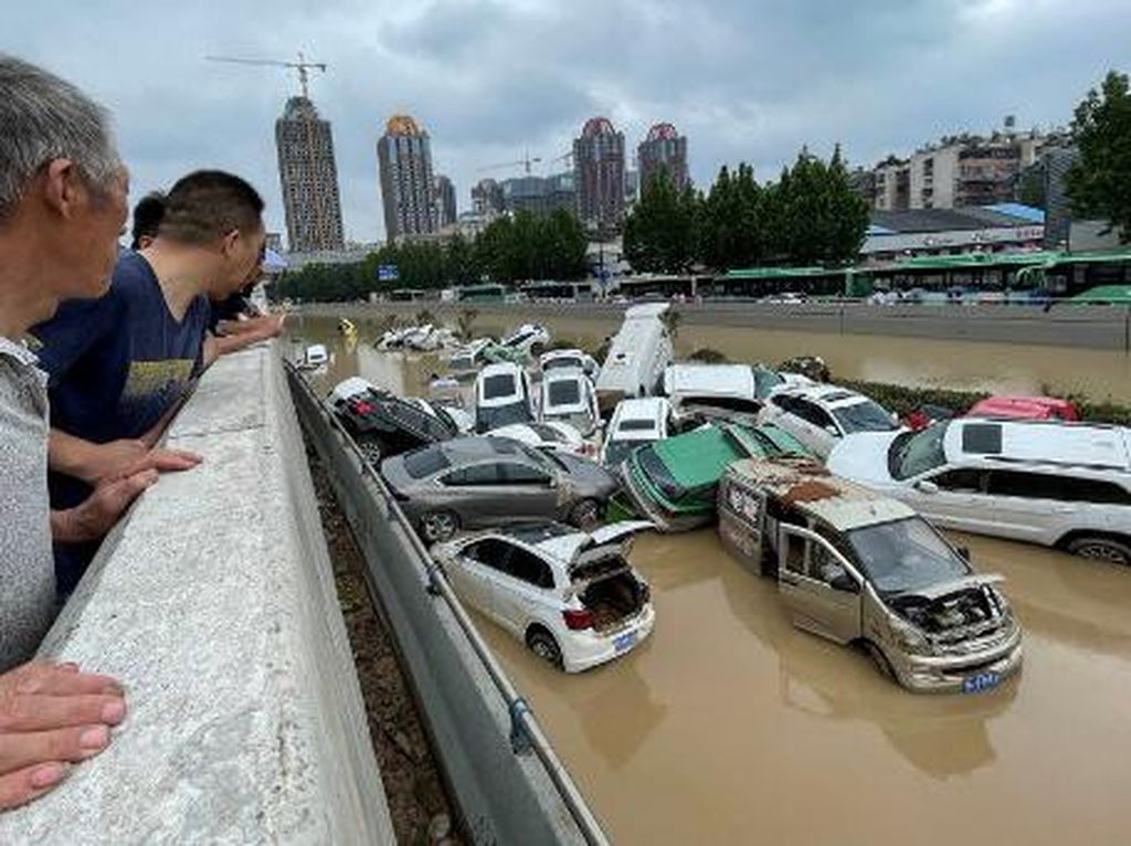 Alibaba hingga Tencent Sumbang Rp 4,3 T ke Korban Banjir China