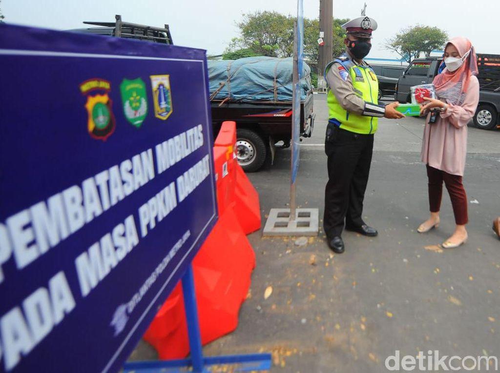 Polri: Tugas Polisi Pastikan PPKM Dipatuhi, Tak Boleh Matikan Ekonomi