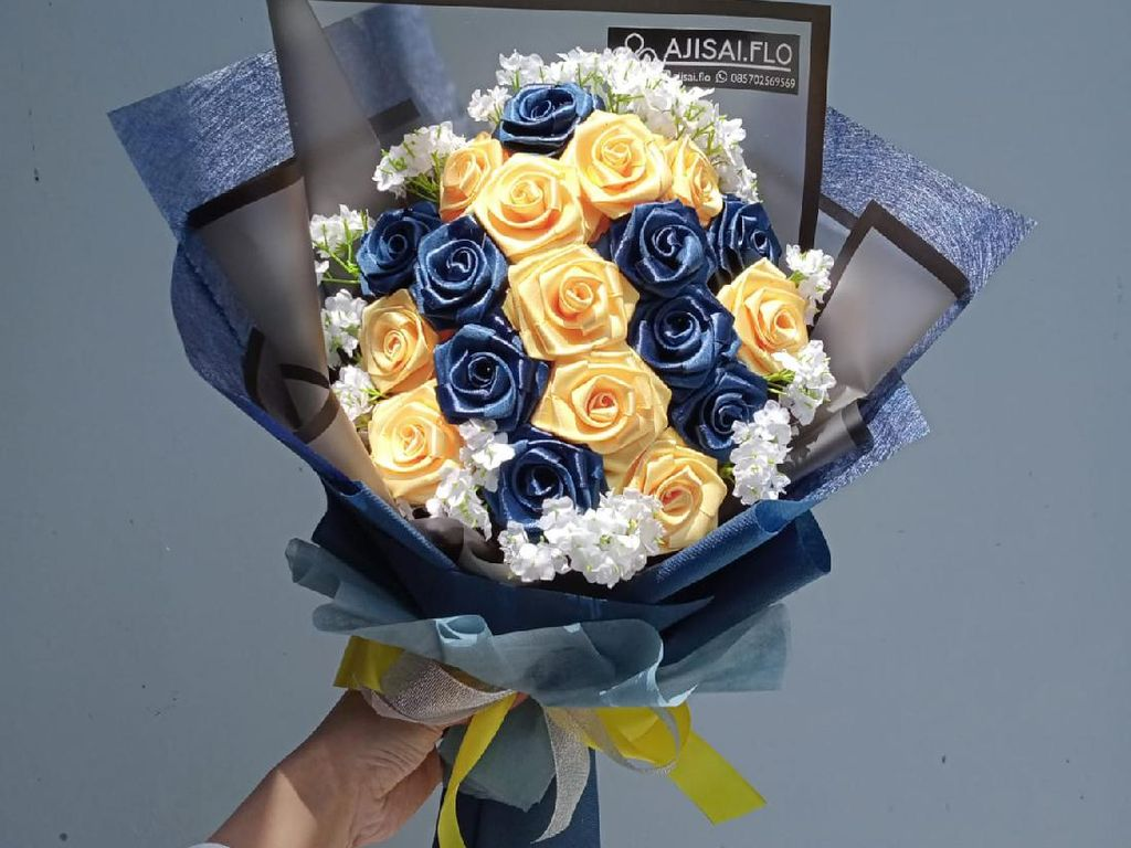 Dulu Jualan di Kampus, Karangan Bunga UMKM Ini Kini Tembus Singapura