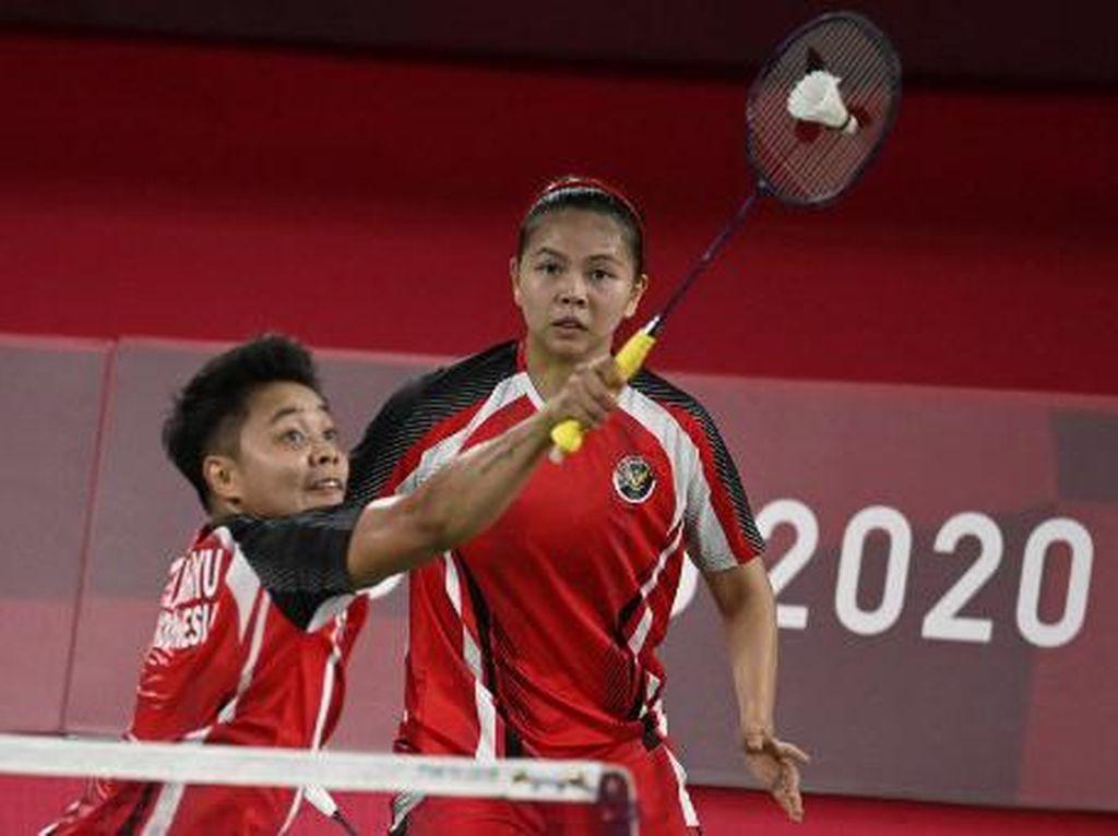 Hasil Bulutangkis Olimpiade Tokyo 2020: Greysia/Apriyani Menang