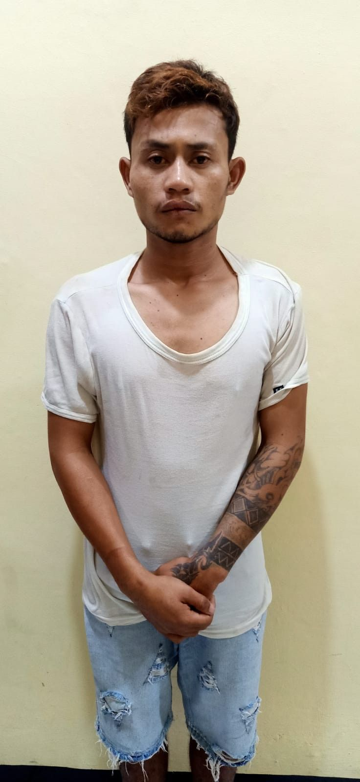 Irwan Sugianto alias Cawai, pelaku pembunuh anaknya sendiri. (Dok Istimewa)