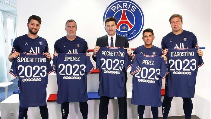 Mauricio Pochettino perpanjang kontrak di PSG hingga 2023