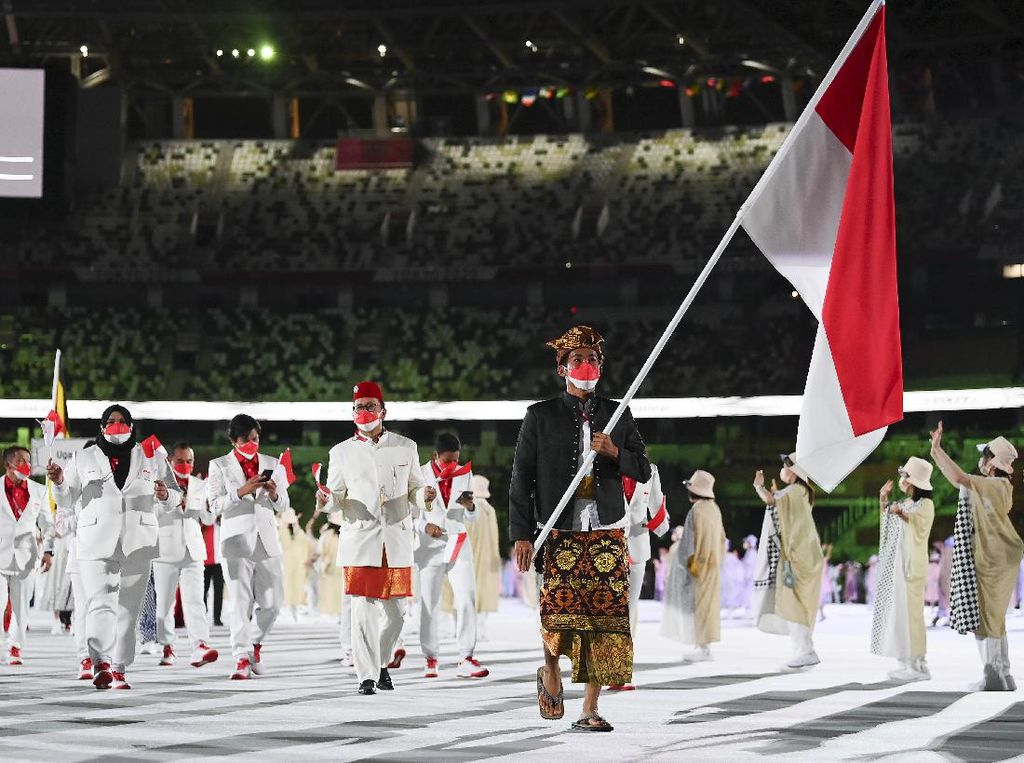 Netizen Antusias Sambut Olimpiade #Tokyo2020, Yuk Beri Semangat Tim Merah Putih!