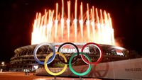 Semarak Kemeriahan Pembukaan Olimpiade Tokyo 2020