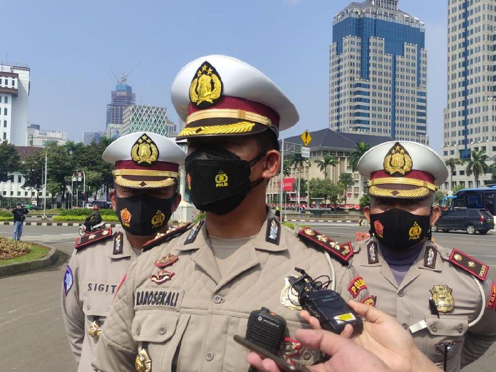 Pemeriksaan di Penyekatan Diperketat, Antisipasi Pendemo Jokowi End Game