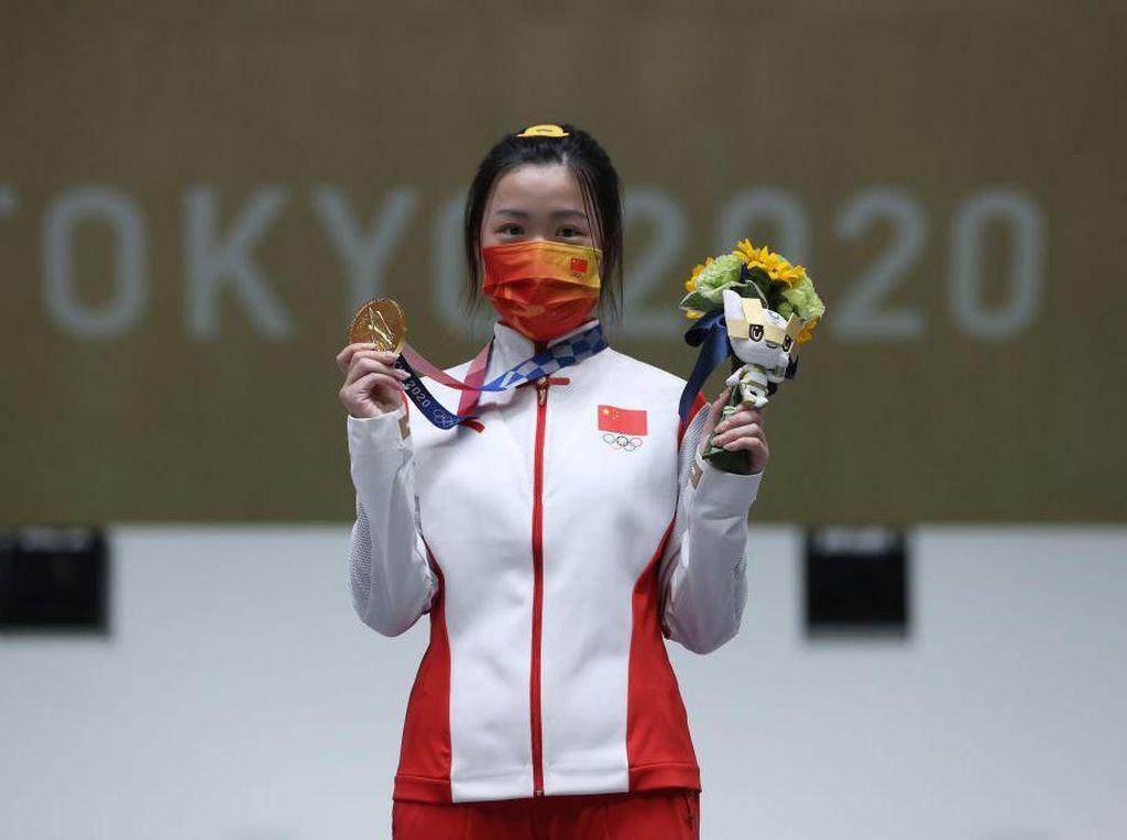 Dipakai Atlet Pertama Peraih Emas Olimpiade Tokyo, Jepit Rambut Ini Viral