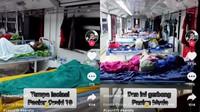 Viral Pasien Room Tour Ruang Isolasi COVID-19 di Gerbong Kereta, Ini Kisahnya