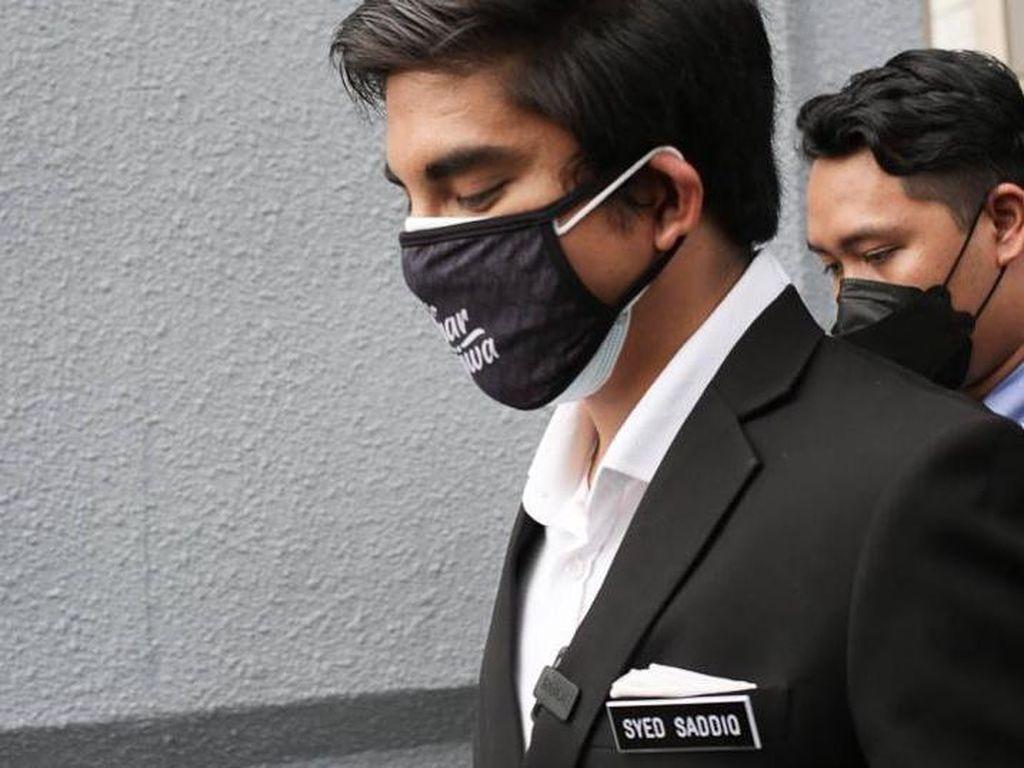Mantan Menpora Malaysia Syed Saddiq Didakwa Pencucian Uang