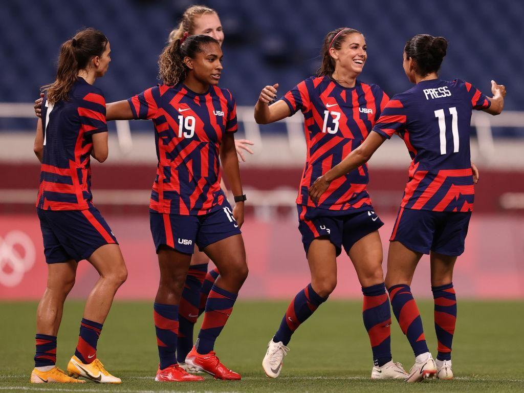Sepakbola Putri Olimpiade 2020: AS Pesta Gol 6-1, Belanda Vs Brasil Seri