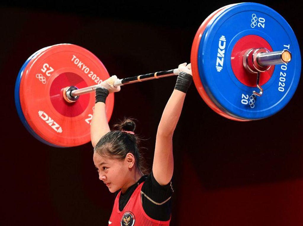 Trending! #Windy #Weightlifting Persembahkan Medali Olimpiade Tokyo Pertama untuk RI
