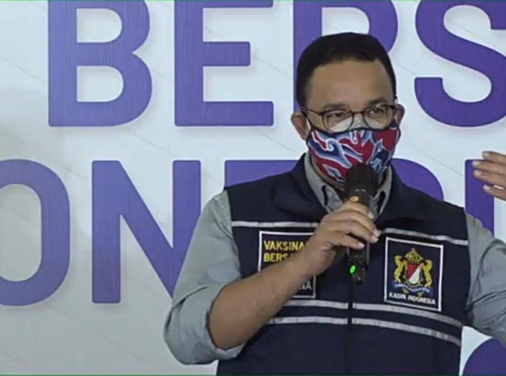 Anies Ungkap 42 Ribu Pasien Corona Jakarta Masih Isoman-Dirawat di RS