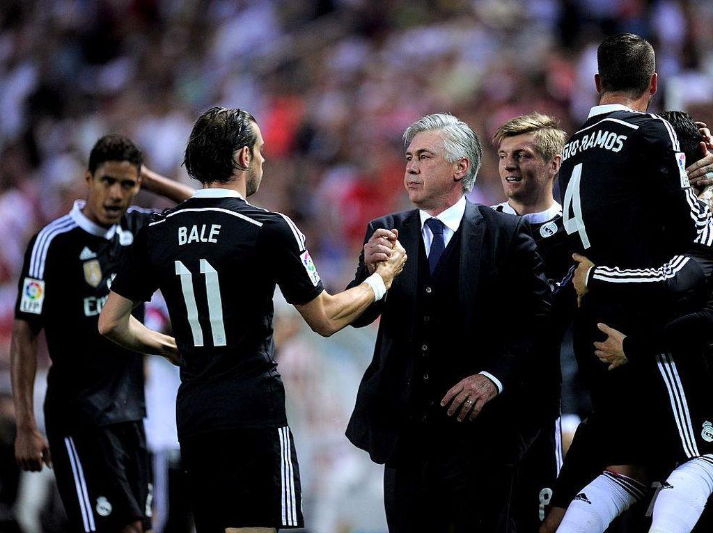 Dear Real Madrid, Ancelotti Butuh Bale Nih