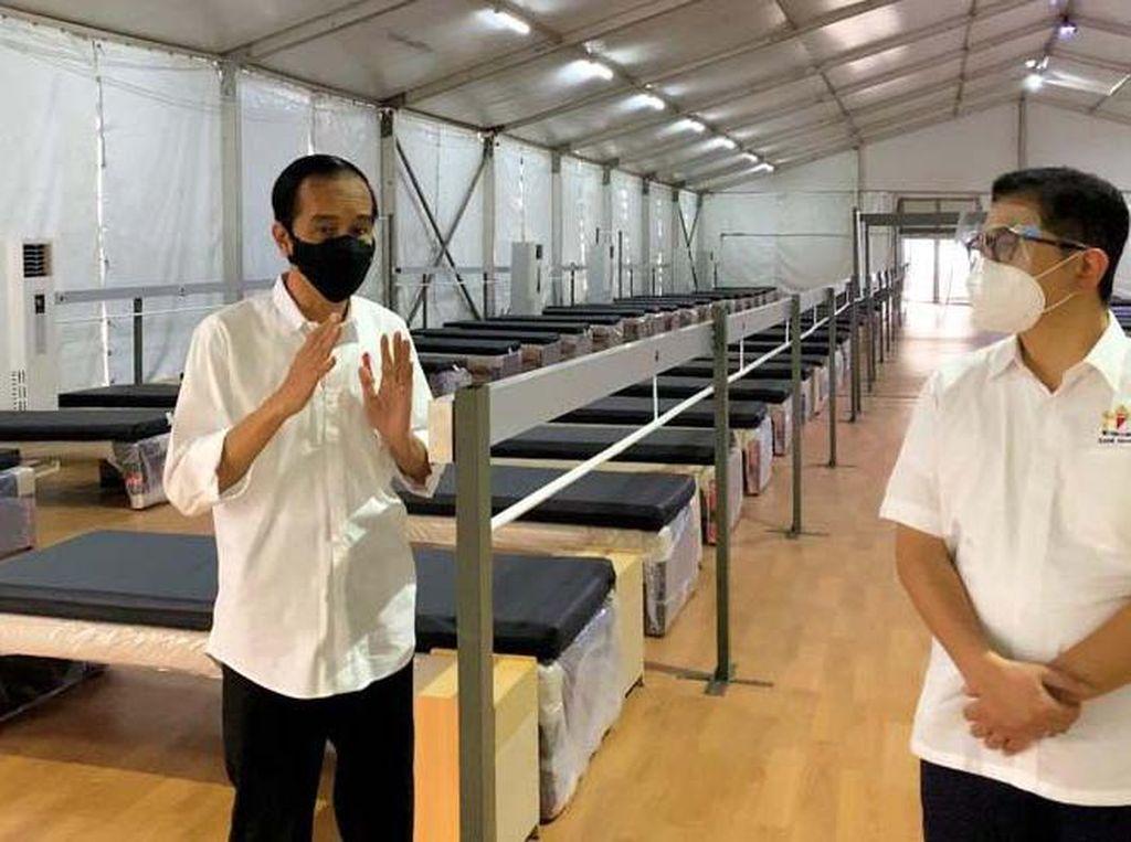 Ini Lho Rumah Oksigen Gotong Royong yang Ditinjau Jokowi