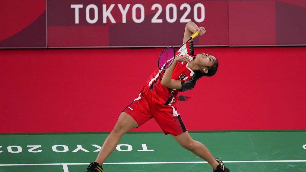 Melihat Aksi Gregoria Tumbangkan Lawan di Olimpiade Tokyo