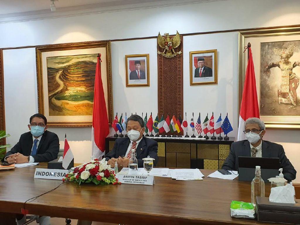 Menteri ESDM Bicara Langkah RI Menuju Ekonomi Hijau di Pertemuan G20
