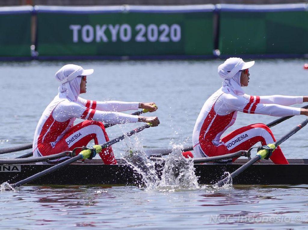 Gagal ke Semifinal Olimpiade, Mutiara/Melani Pantang Patah Semangat