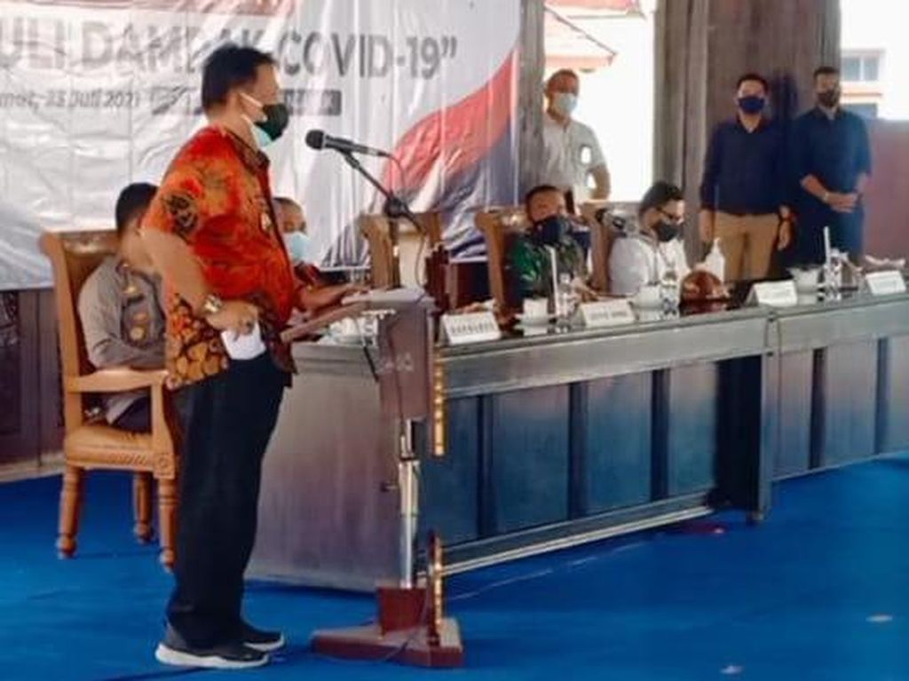 Usir Wabah COVID-19, Plt Bupati Nganjuk Ajak Warga Ritual Tolak Balak