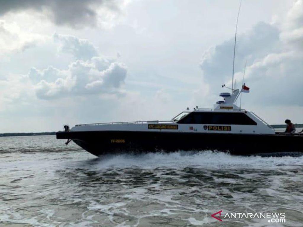 Polisi Gagalkan Penyelundupan 3 Kg Sabu Asal Malaysia di Perairan Riau