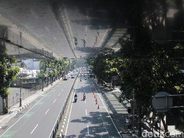 Potret Bandung Kala Masa PPKM Darurat