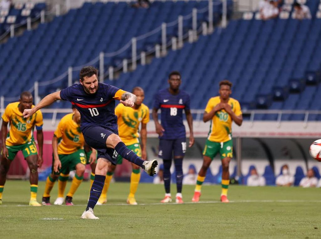 Hasil Sepakbola Olimpiade Tokyo 2020: Gignac Hat-trick, Prancis Menang