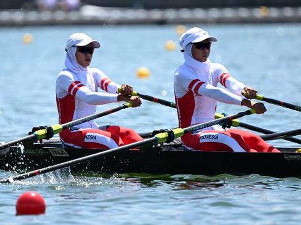 Hasil Dayung Olimpiade Tokyo 2020: Wakil Indonesia Tersisih