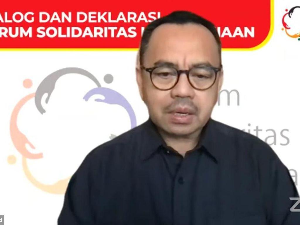 Sudirman Said-Sejumlah Rektor Bentuk Forum Solidaritas Kemanusiaan