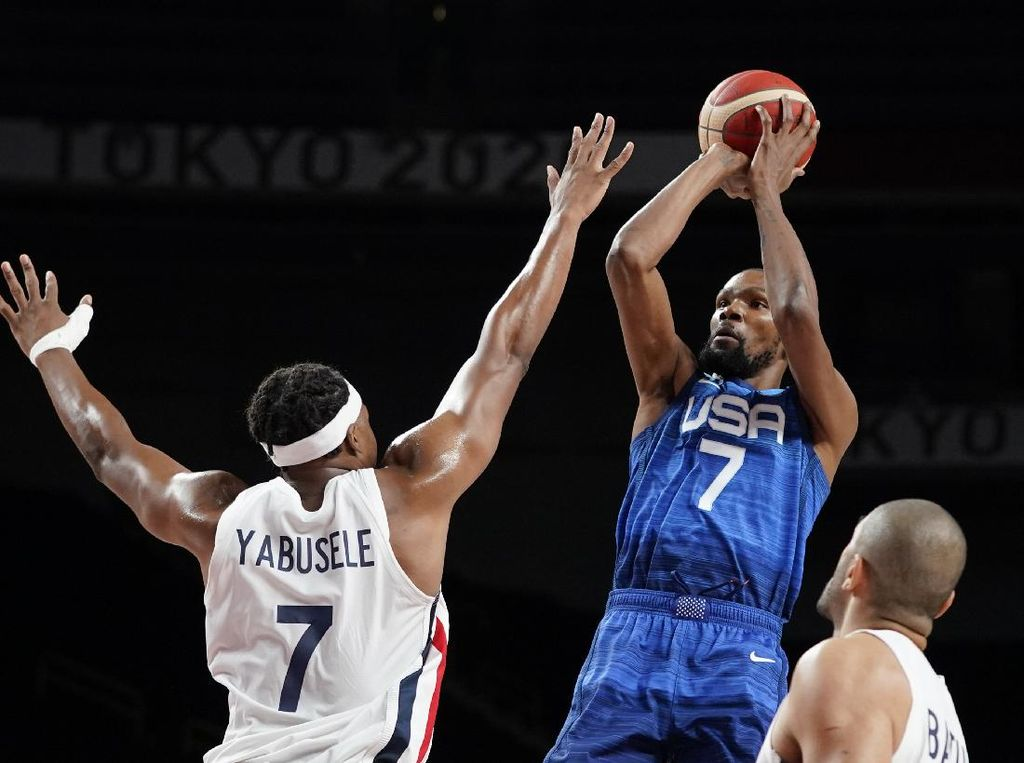 Olimpiade Tokyo 2020: Tim Basket AS Dikejutkan Prancis 76-83